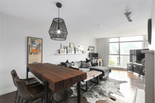 """Photo 2: 210 8430 JELLICOE Street in Vancouver: South Marine Condo for sale in """"BOARDWALK"""" (Vancouver East)  : MLS®# R2453487"""