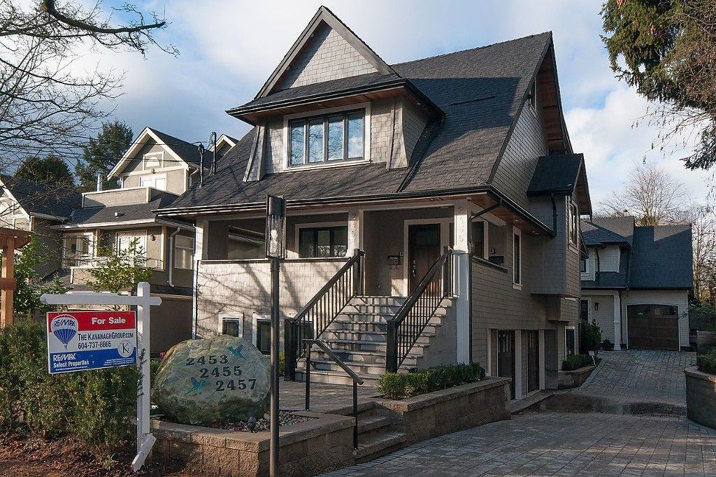 "Main Photo: 2455 W 7TH Avenue in Vancouver: Kitsilano 1/2 Duplex for sale in ""The Ghalley"" (Vancouver West)  : MLS®# R2036781"