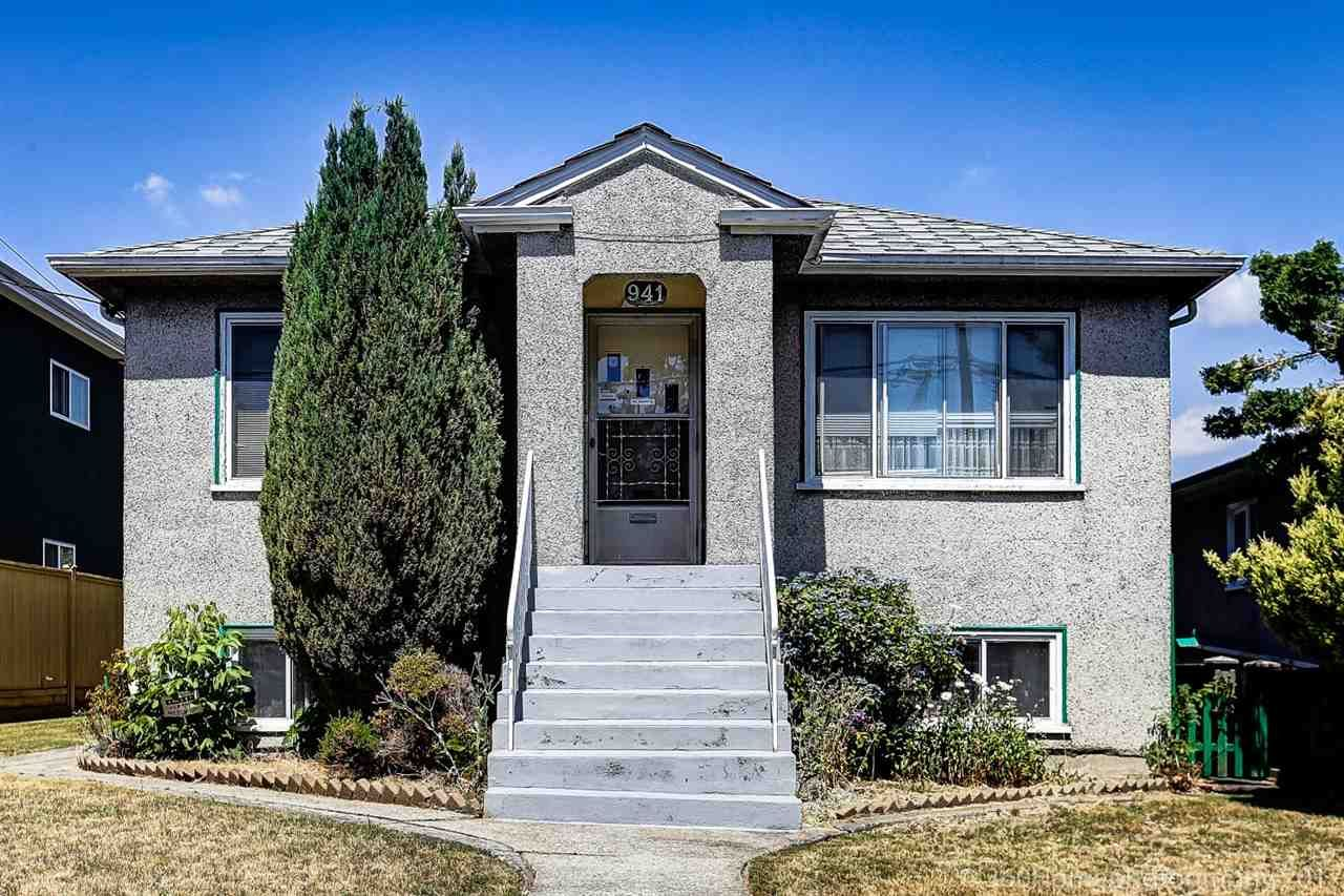 Main Photo: 941 E 54TH Avenue in Vancouver: South Vancouver House for sale (Vancouver East)  : MLS®# R2187879