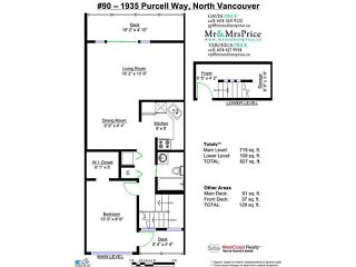 "Photo 13: # 90 1935 PURCELL WY in North Vancouver: Lynnmour Condo for sale in ""LYNNMOUR SOUTH"" : MLS®# V1025318"