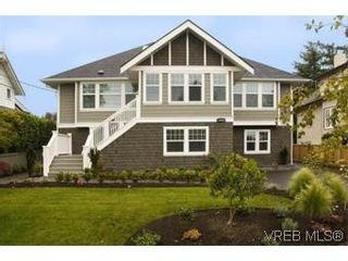 Photo 1: 3 1290 Richardson St in VICTORIA: Vi Fairfield West Row/Townhouse for sale (Victoria)  : MLS®# 490830