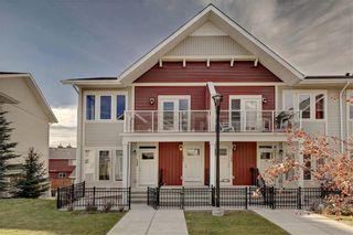 Photo 1: 124 AUBURN MEADOWS Walk SE in Calgary: Auburn Bay Row/Townhouse for sale : MLS®# C4273742