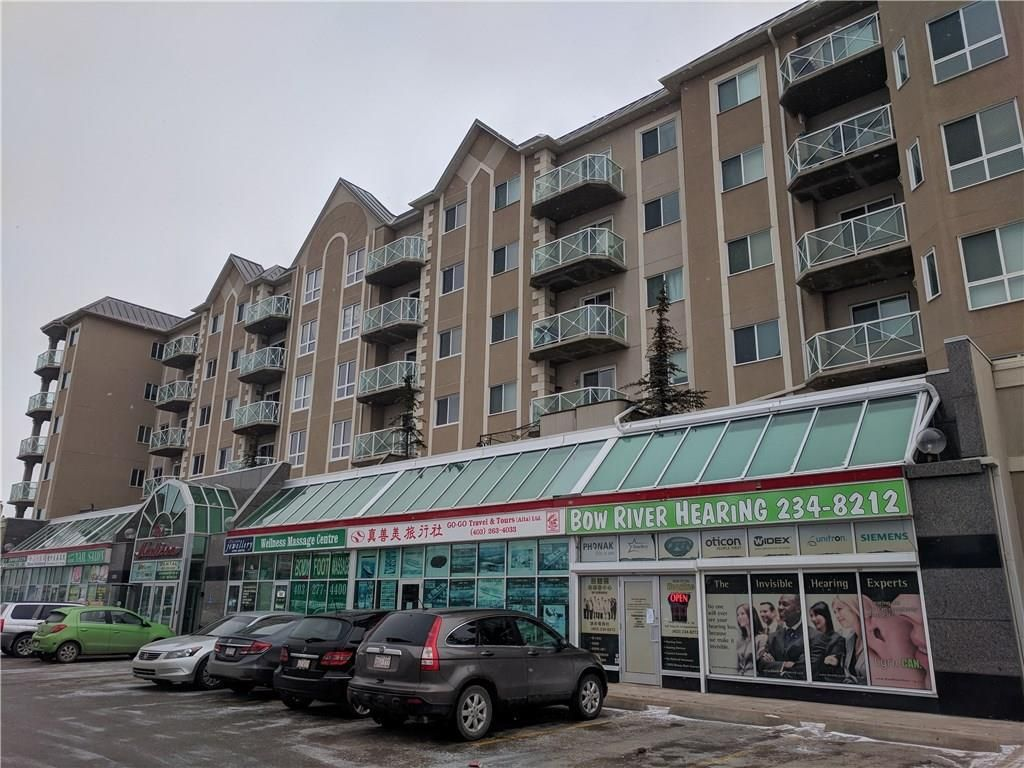 Main Photo: 115 1518 CENTRE Street NE in Calgary: Crescent Heights Retail for sale : MLS®# C4161727