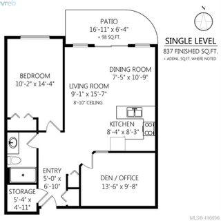 Photo 19: 116 1485 Garnet Rd in VICTORIA: SE Cedar Hill Condo for sale (Saanich East)  : MLS®# 826615