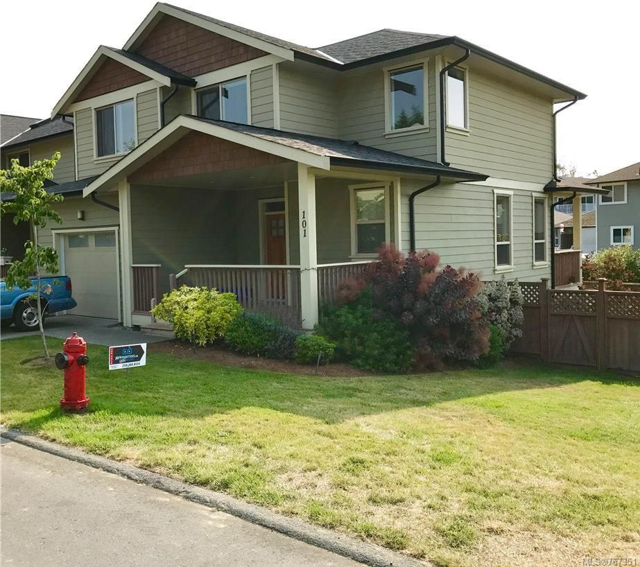 Main Photo: 101 2253 Townsend Rd in Sooke: Sk Broomhill Row/Townhouse for sale : MLS®# 767351