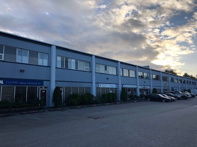 Main Photo: 160 11880 HAMMERSMITH Way in Richmond: Gilmore Industrial for sale : MLS®# C8034914