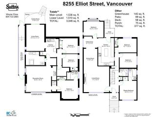 Photo 20: 8255 ELLIOTT Street in Vancouver: Fraserview VE House for sale (Vancouver East)  : MLS®# V1124982