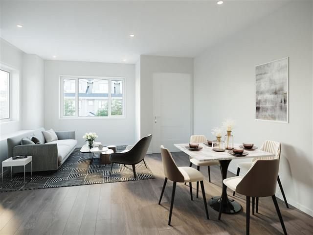 """Main Photo: 22 3643 RAE Avenue in Vancouver: Collingwood VE Townhouse for sale in """"Rae Garden"""" (Vancouver East)  : MLS®# R2578921"""