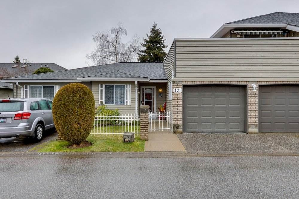 "Main Photo: 13 6320 48A Avenue in Delta: Holly Townhouse for sale in ""GARDEN ESTATES"" (Ladner)  : MLS®# R2556426"