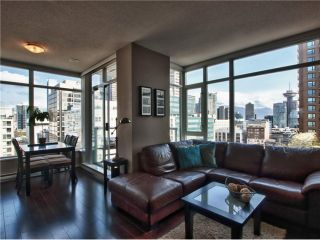 "Photo 1: 1202 480 ROBSON Street in Vancouver: Downtown VW Condo for sale in ""R&R"" (Vancouver West)  : MLS®# V886537"