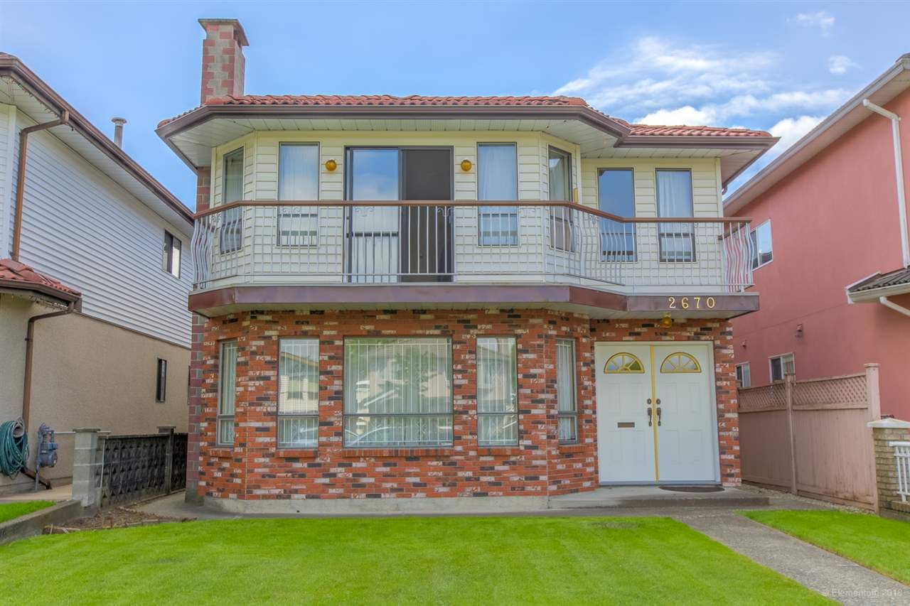 Main Photo: 2670 KITCHENER Street in Vancouver: Renfrew VE House for sale (Vancouver East)  : MLS®# R2306597