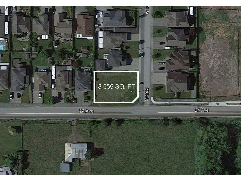 Main Photo: 2409 270B Street in Langley: Aldergrove Langley Land for sale : MLS®# R2545360