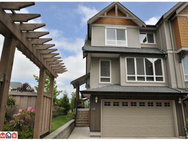 """Main Photo: 50 16789 60TH Avenue in Surrey: Cloverdale BC Townhouse for sale in """"Laredo"""" (Cloverdale)  : MLS®# F1014213"""