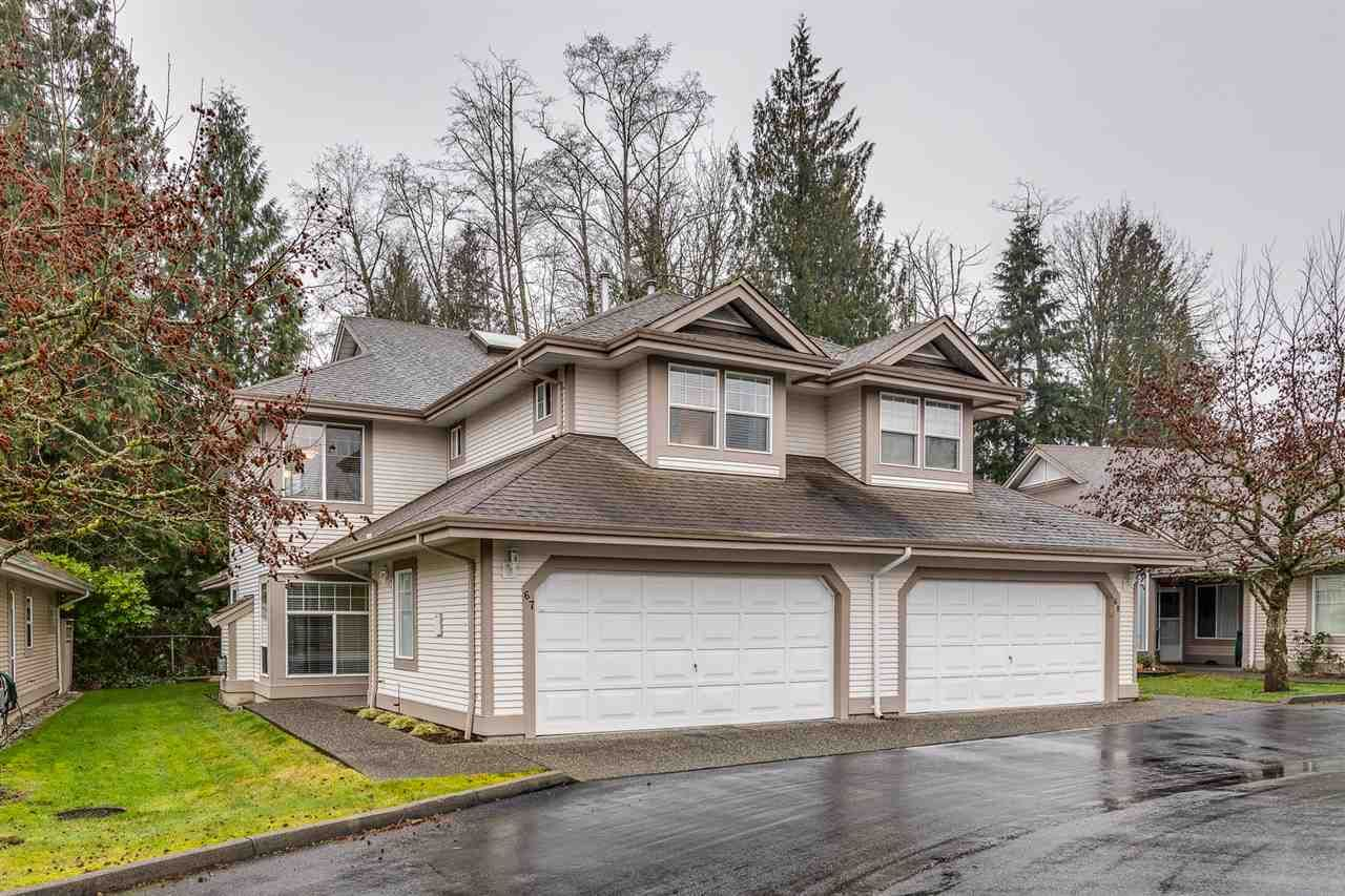 """Main Photo: 67 9025 216 Street in Langley: Walnut Grove Townhouse for sale in """"CONVENTRY WOODS"""" : MLS®# R2356980"""
