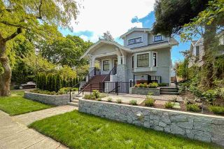 """Main Photo: 2008 W 14TH Avenue in Vancouver: Kitsilano Townhouse for sale in """"GREYSTONE"""" (Vancouver West)  : MLS®# R2586422"""