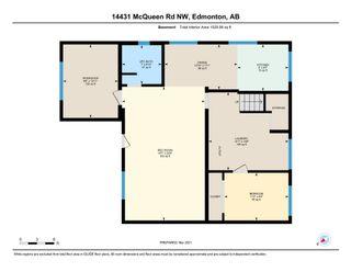 Photo 11: 14431 McQueen Road NW in Edmonton: Zone 21 House Half Duplex for sale : MLS®# E4257078