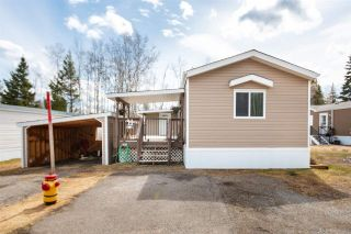 """Photo 1: 91 6100 O'GRADY Road in Prince George: St. Lawrence Heights Manufactured Home for sale in """"COLLEGE HEIGHTS TRAILER PARK"""" (PG City South (Zone 74))  : MLS®# R2453065"""
