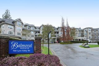 """Photo 1: 416 960 LYNN VALLEY Road in North Vancouver: Lynn Valley Condo for sale in """"Balmoral House"""" : MLS®# R2162251"""