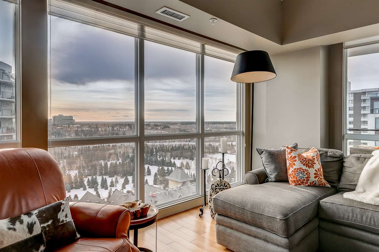Main Photo: #1502 10046 117 ST NW in Edmonton: Zone 12 Condo for sale : MLS®# E4225099