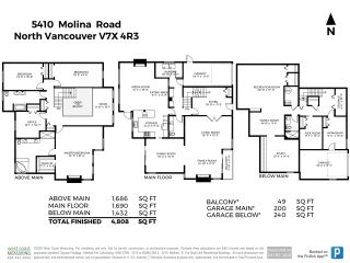 Photo 40: 5410 MOLINA ROAD in North Vancouver: Canyon Heights NV House for sale : MLS®# R2522635