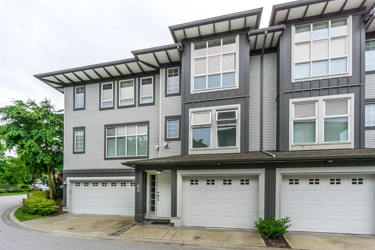 "Main Photo: 60 18777 68A Avenue in Surrey: Clayton Townhouse for sale in ""COMPASS"" (Cloverdale)  : MLS®# R2173614"