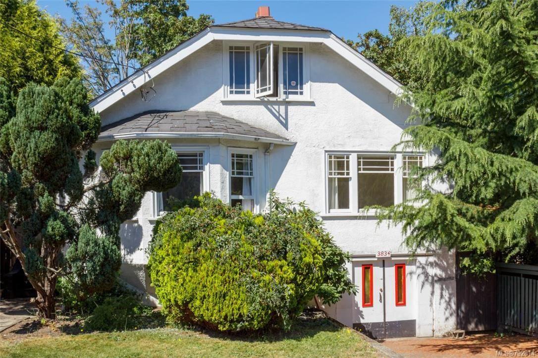 Main Photo: 3834 Quadra St in : SE High Quadra House for sale (Saanich East)  : MLS®# 792814