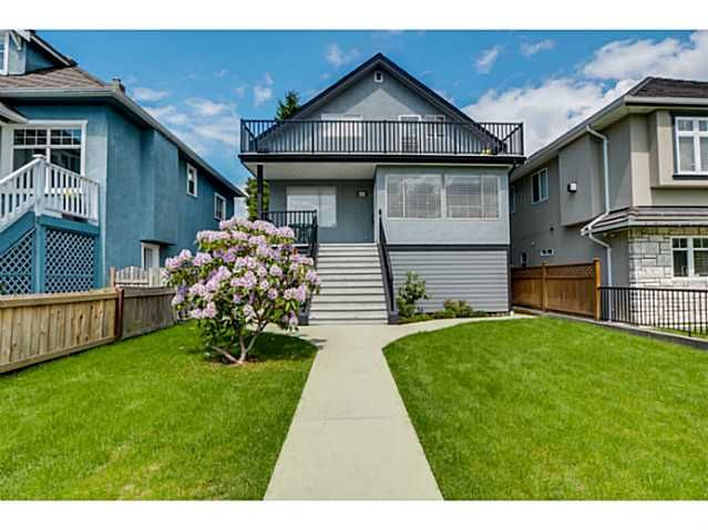 Main Photo: 4153 PANDORA Street in Burnaby: Vancouver Heights House for sale (Burnaby North)  : MLS®# V1065724