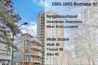 """Photo 22: 1501 1003 BURNABY Street in Vancouver: West End VW Condo for sale in """"MILANO"""" (Vancouver West)  : MLS®# R2555583"""