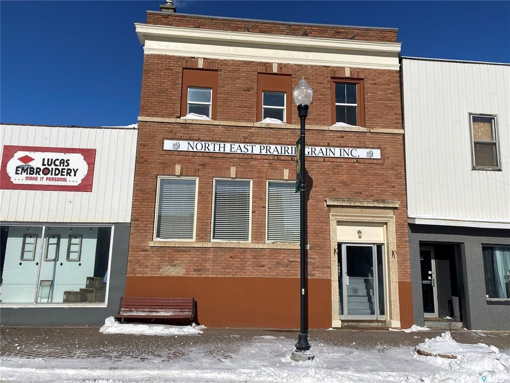 Main Photo: 1007 100th Street in Tisdale: Commercial for sale : MLS®# SK847440