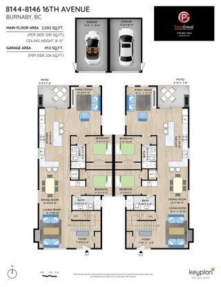Photo 4: 8146 16TH Avenue in Burnaby: East Burnaby 1/2 Duplex for sale (Burnaby East)  : MLS®# R2570523