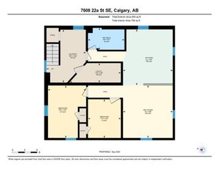 Photo 25: 7608 22A Street SE in Calgary: Ogden Detached for sale : MLS®# A1030880