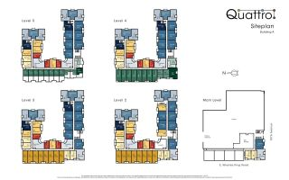 "Photo 4: 331 13733 107A Avenue in Surrey: Whalley Condo for sale in ""Quattro"" (North Surrey)  : MLS®# R2565794"