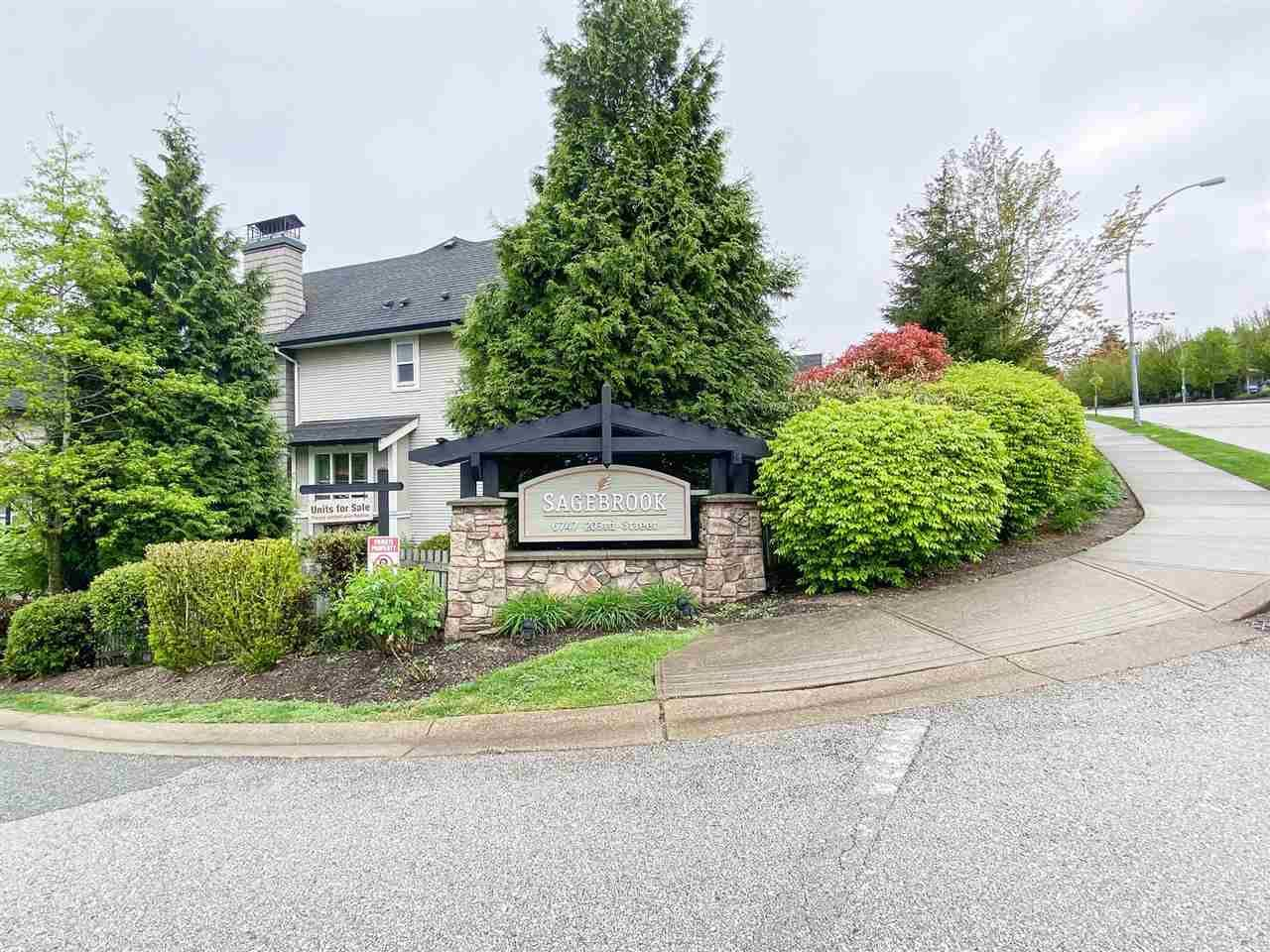 """Main Photo: 134 6747 203 Street in Langley: Willoughby Heights Townhouse for sale in """"SAGEBROOK"""" : MLS®# R2575428"""