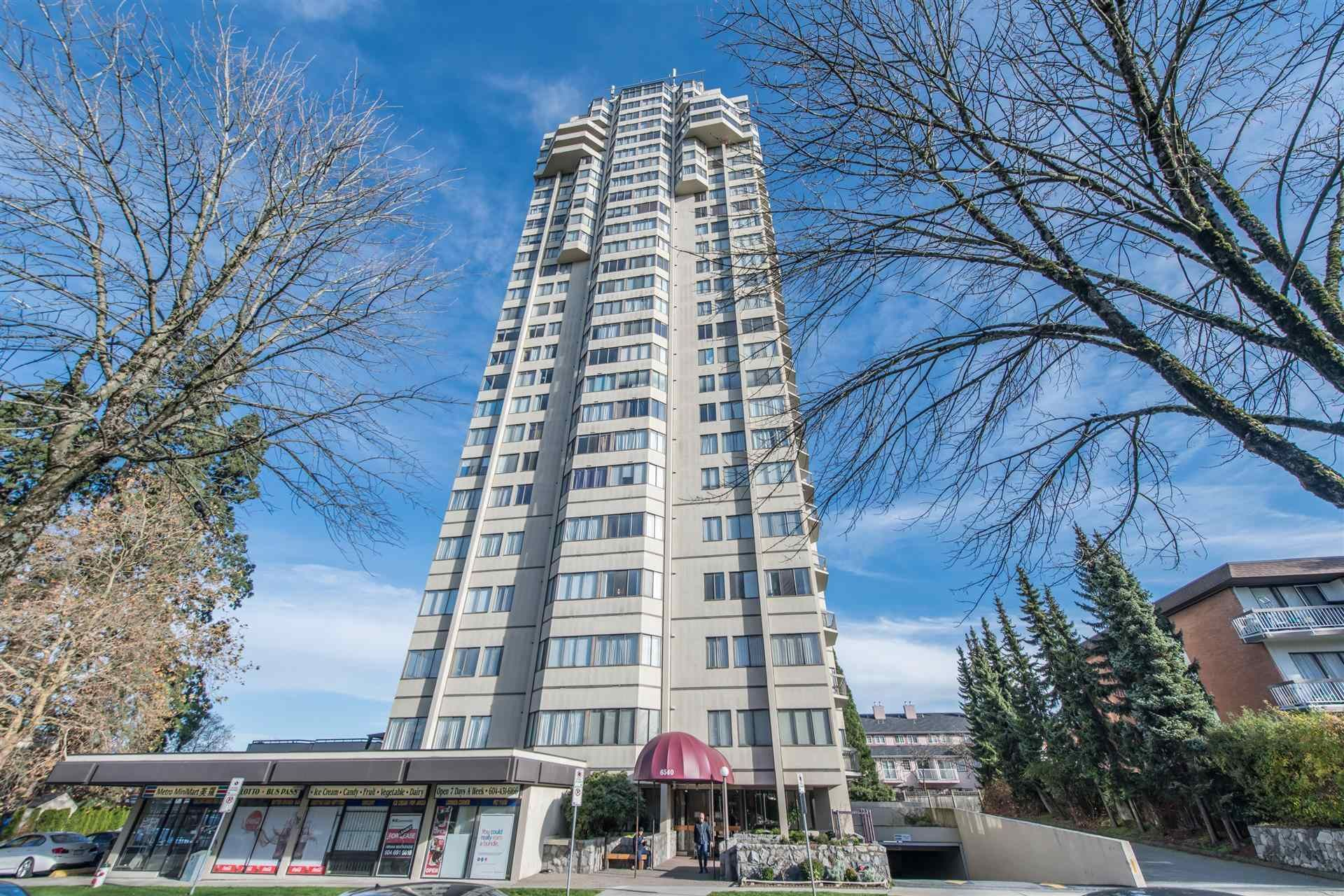 Main Photo: 1903 6540 BURLINGTON AVENUE in Burnaby: Metrotown Condo for sale (Burnaby South)  : MLS®# R2600716