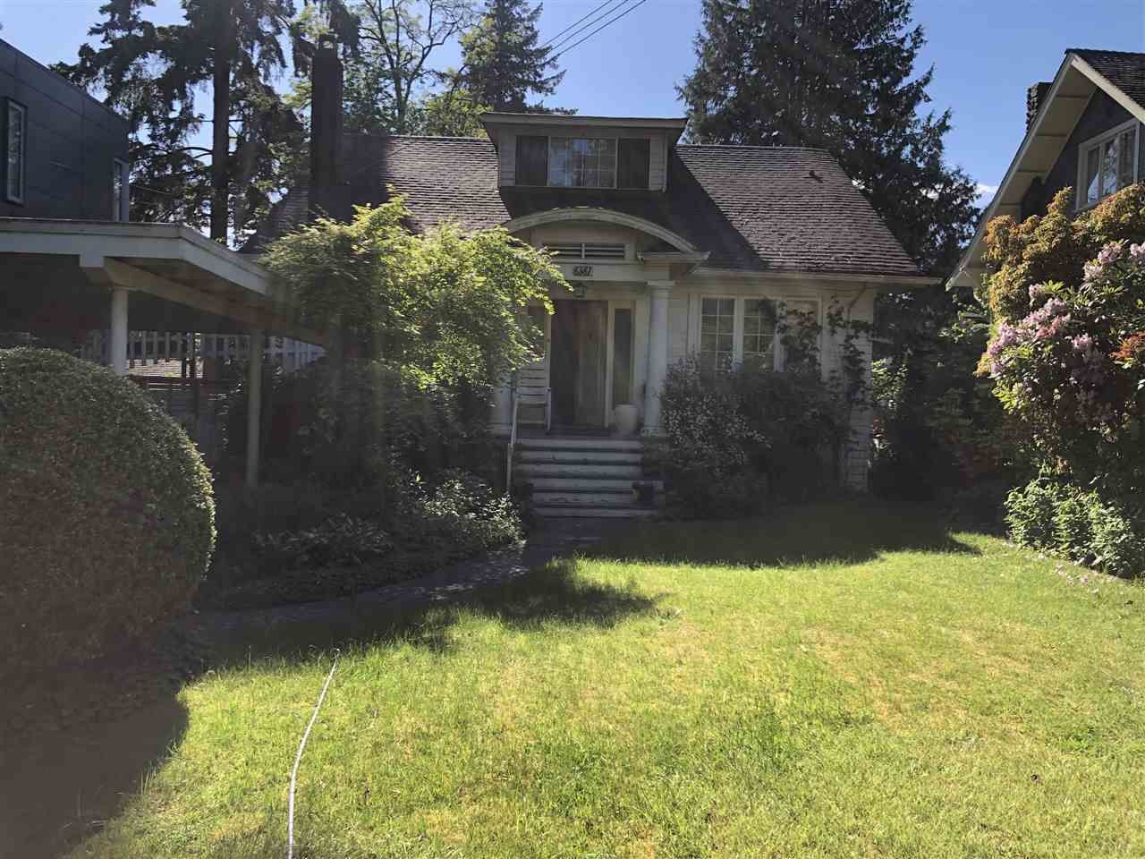 Main Photo: 6361 LARCH Street in Vancouver: Kerrisdale House for sale (Vancouver West)  : MLS®# R2465204