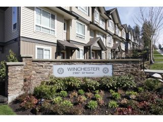 """Photo 2: 20 21867 50 Avenue in Langley: Murrayville Townhouse for sale in """"WINCHESTER"""" : MLS®# R2039227"""