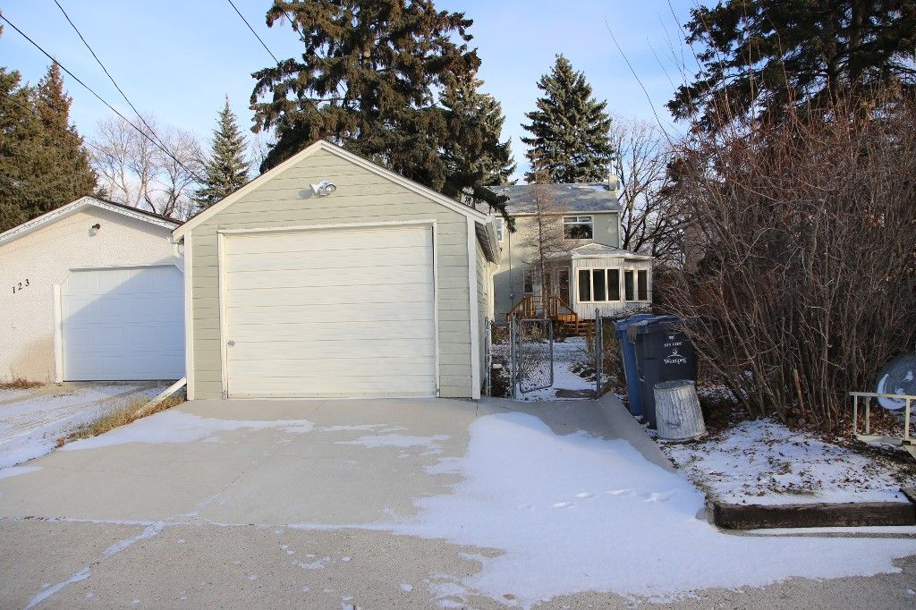 Photo 38: Photos: 125 Lindsay Street in WINNIPEG: River Heights Single Family Detached for sale (South Winnipeg)  : MLS®# 1427795