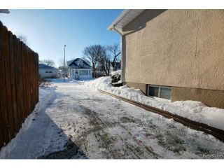 Photo 19: 741 Prince Rupert Avenue in WINNIPEG: East Kildonan Residential for sale (North East Winnipeg)  : MLS®# 1500262