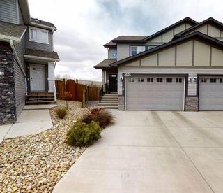 Photo 1: 3636 9 Street in Edmonton: Zone 30 House Half Duplex for sale : MLS®# E4240538
