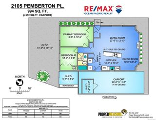 Photo 26: 2105 Pemberton Pl in : CV Comox (Town of) House for sale (Comox Valley)  : MLS®# 871277