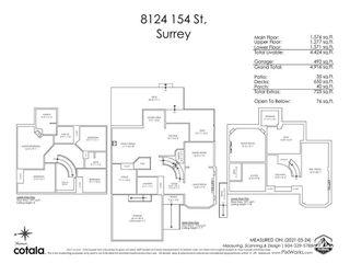 """Photo 40: 8124 154 Street in Surrey: Fleetwood Tynehead House for sale in """"FAIRWAY PARK"""" : MLS®# R2584363"""