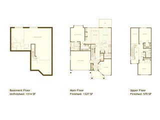 """Photo 9: 93 24185 106B Avenue in Maple Ridge: Albion 1/2 Duplex for sale in """"TRAILS EDGE"""" : MLS®# V881736"""