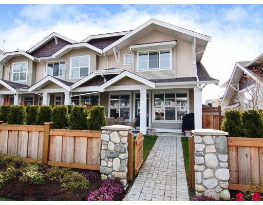 """Main Photo: 5 20460 66TH Avenue in Langley: Willoughby Heights Townhouse for sale in """"Willow Edge"""" : MLS®# F2809393"""