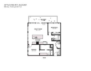 Photo 22: 511 327 9a Street NW in Calgary: Sunnyside Apartment for sale : MLS®# A1124998