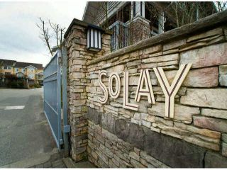 """Photo 1: 150 15168 36TH Avenue in Surrey: Morgan Creek Townhouse for sale in """"SOLAY"""" (South Surrey White Rock)  : MLS®# F1423214"""