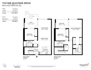 """Photo 2: TH3 988 QUAYSIDE Drive in New Westminster: Quay Townhouse for sale in """"River Sky"""" : MLS®# R2622130"""