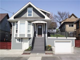 Photo 1: 2139 FERNDALE Street in Vancouver: Hastings House for sale (Vancouver East)  : MLS®# V1118453