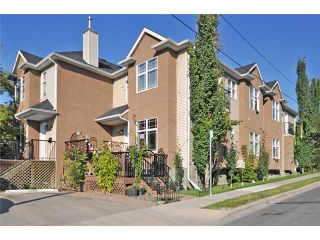Photo 1: 1730 21 Avenue SW in CALGARY: Bankview Townhouse for sale (Calgary)  : MLS®# C3503737
