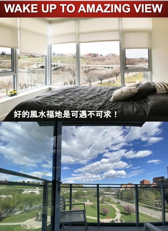 Main Photo: 503 118 Waterfront Court SW in Calgary: Chinatown Apartment for sale : MLS®# A1136691