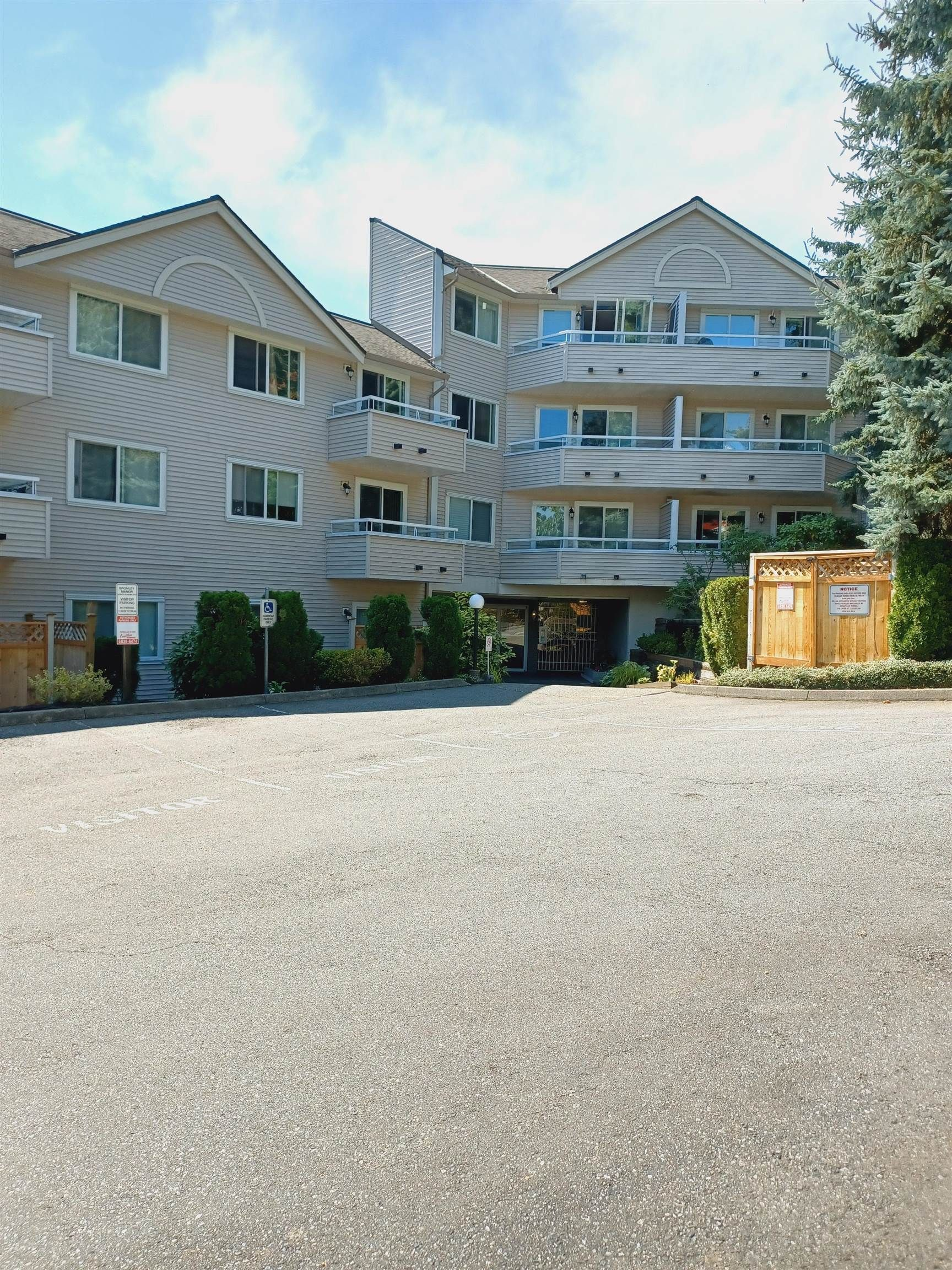 """Main Photo: 307 450 BROMLEY Street in Coquitlam: Coquitlam East Condo for sale in """"BROMLEY MANOR"""" : MLS®# R2612328"""